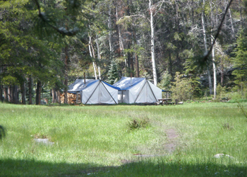 hunting guide camp