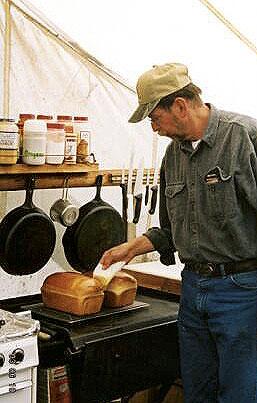 outdoor camp cooking school